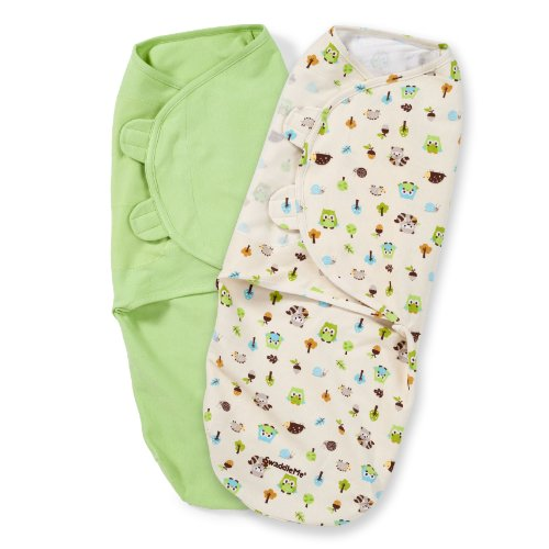 Summer Infant SwaddleMe Adjustable Woodland