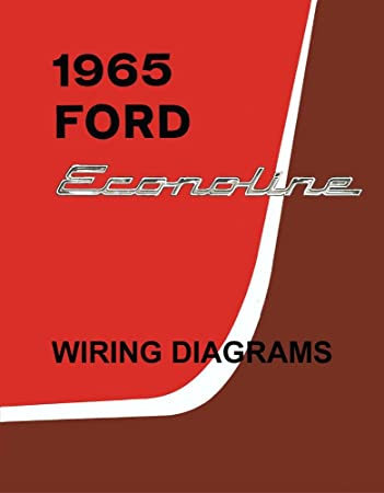 1965 ford wiring schematic amazon com bishko automotive literature 1965 ford econoline truck  1965 ford econoline truck