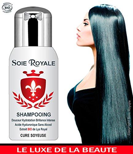 Soie Royale Bio Cure Soyeuse Champú ecológico 300 ml, hidratante, regenerante y rejuvenecedor, para cabello, rostro y cuerpo, sin alcohol: Amazon.es: ...
