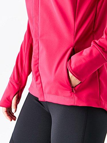 ASICS Womens Softshell Jacket, Performance Black, Large by ASICS (Image #4)