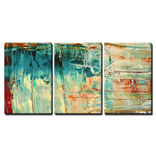 """Wall26 - 3 Piece Canvas Wall Art - Abstract as Background - Modern Home Decor Stretched and Framed Ready to Hang - 24\""""x36\""""x3 Panels"""
