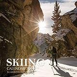 Skiing Calendar 2019: 16 Month Calendar