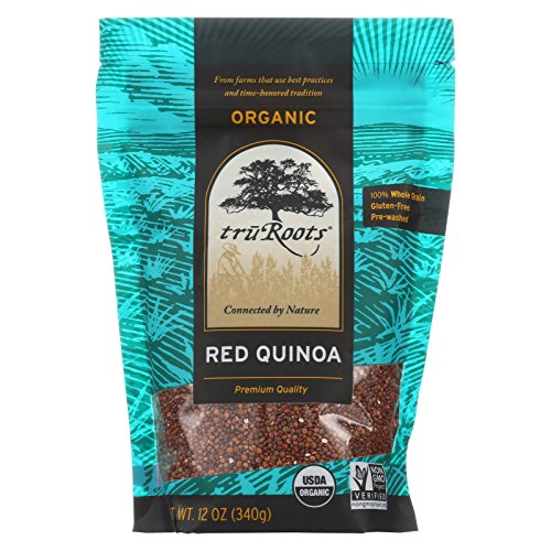 Truroots Organic Red Quinoa - Case of 6 - 12 oz. by truRoots
