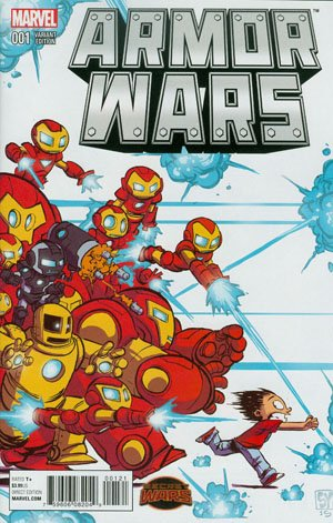 Armor Wars #1 Cover B Variant Skottie Young Baby Cover (Secret Wars Warzones Tie-In) pdf epub