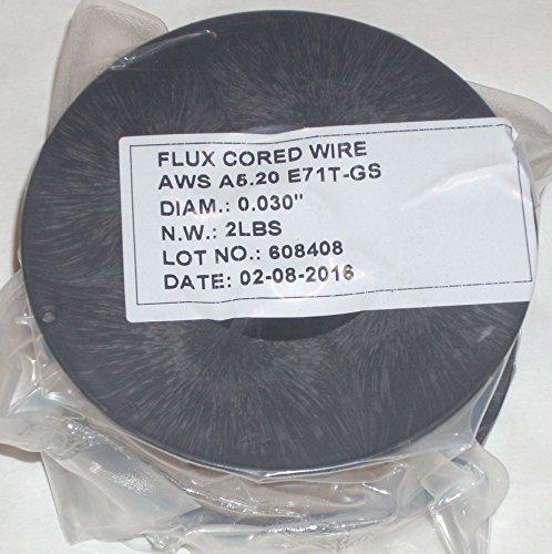 4lbs Flux Core E71T-GS Gasless Welding Wire .030 Diameter (2) 2 lb Rolls