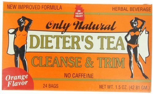 - Only Natural Dieters Cleansing Tea - Orange, 1.5 Ounce by Only Natural