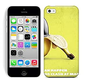 Best Power(Tm) HD Colorful Painted Watercolor Knife Banana Hard Phone Case For Iphone 5C Kimberly Kurzendoerfer