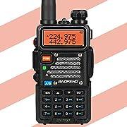 #LightningDeal 86% claimed: Baofeng x Radioddity UV-5RX3 Tri-Band Radio VHF, 1.25M, UHF Amateur Handheld Ham Two Way Radio Walkie Talkie with Earpiece and Charger