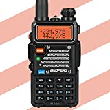 Baofeng X Radioddity UV 5RX3 Tri Band Radio VHF 1.25M Uhf Amateur Handheld ham Two Way Radio Walkie Talkie with Earpiece and Charger