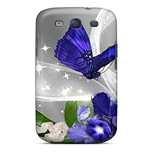 Galaxy S3 Case Cover With Shock Absorbent Protective TIeFCpp5323lkGQb Case
