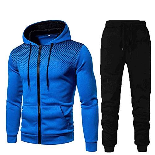 BIBOKAOKE Sportkleding voor heren, camouflage, fitness, trainingspak, sneldrogend, wintersportswear, hardloopbroek…