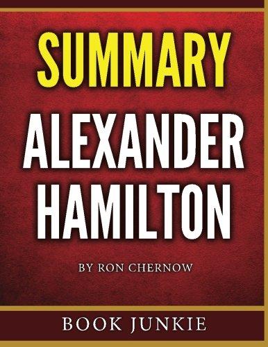 Alexander Hamilton Summary Book Junkie product image
