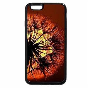 iPhone 6S / iPhone 6 Case (Black) Sunset Flower