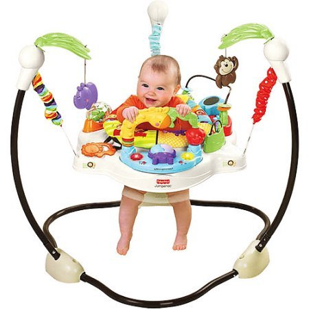 Fisher-Price - Luv U Zoo Jumperoo Removable Seat For Easy