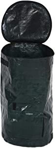 DEWIN Organic Compost Bag - Organic Waste Kitchen Garden Yard Compost Bag Environmental PE Cloth Planter (Size : 45cm)