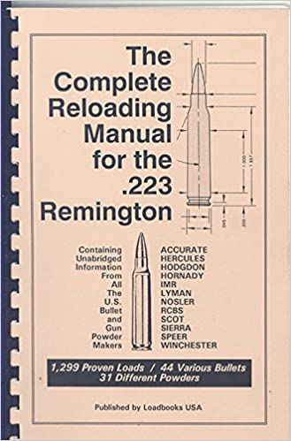 The Complete Reloading Manual for the  223 Remington: USA Loadbooks