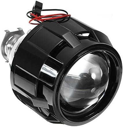 JenNiFer 2,5 Zoll Auto Motor Bi-Xenon Hid Projektor Winkel Auge Halo Objektiv Scheinwerfer H1 H4 H7 Lhd