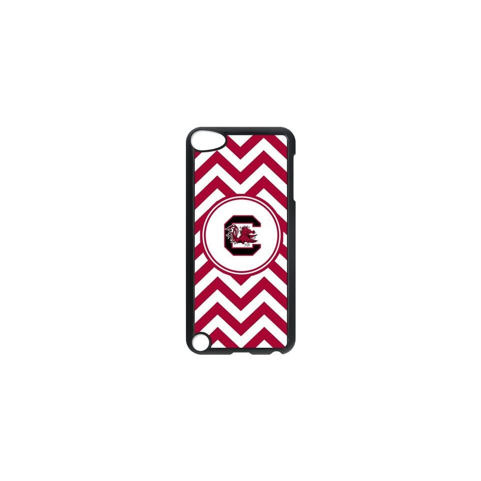NCAA South Carolina Gamecocks Logo Hard Cases Cover for Ipod Touch 5th Gen   Players & Accessories