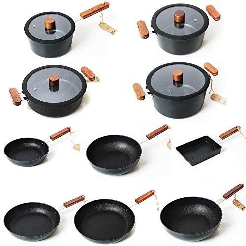 Fort Ceramic Coated Stick Resistant Aluminum Cookware, for sale  Delivered anywhere in USA