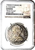 1783 MX 8 Reales Coin From Whale Cluster Clump MO FF El Cazador Shipwreck ,NGC Certified 2067071008 8 Reales Certified NGC