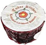 Tudor Kitchen Christmas Pudding, 16-Ounce Cello Wrap Container