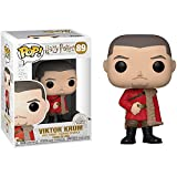 Funko Viktor Krum Pop Vinyl Figure & 1 Compatible Graphic Protector Bundle (42252 - B)