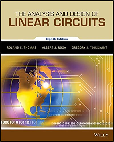 amazon com the analysis and design of linear circuits 8th edition