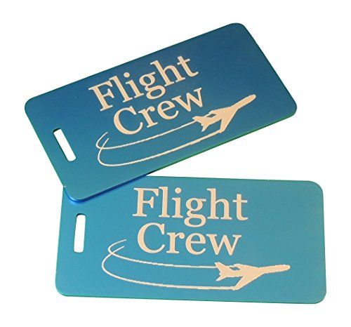 Flight Crew Luggage  Flight Crew  Airline Luggage  Set Of Two  Blue