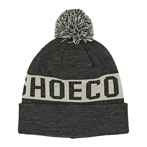 f8cb37dc57c5 DC Shoes Chester Gorro con Pompón, Hombre, Gris (Dark Shadow Plaid_1 ...