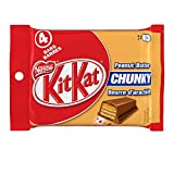KIT KAT CHUNKY Peanut Butter, 4x42g (Pack of 4)