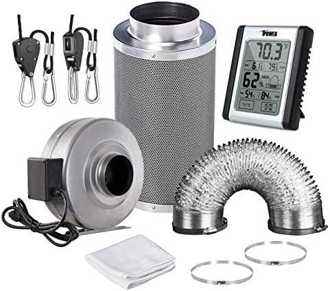 iPower GLFANXSETINLINE6D8RH Ducting Humidity Ventilation product image