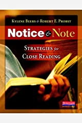 Notice & Note: Strategies for Close Reading Paperback