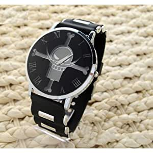 Cosplay Costume Anime Watch Wrist Watch with Cool Led One Piece