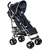 Dream On Me Verona Lightweight Stroller, Navy Blue, 13.5 Pound