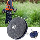 NszzJixo9 5PC Universal Lawn Mower Faster Blade Sharpener Grinding Power Drill Garden Tools Blade Sharpener Features Quality Grinding Stone Handy to Use
