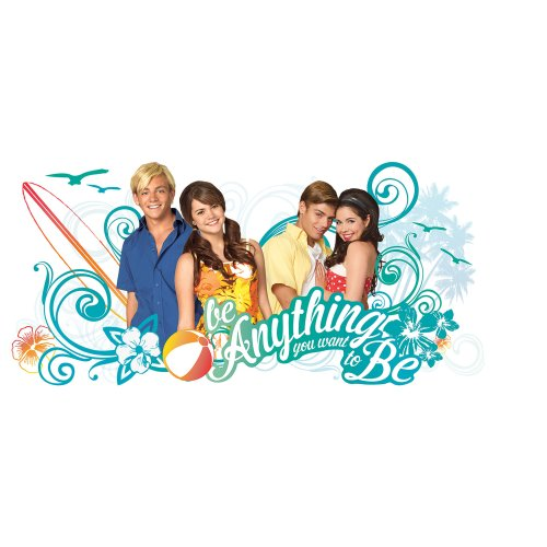RoomMates RMK2337GM Teen Beach Movie Be Anything You Want to Be Peel and Stick Giant Wall Decals]()