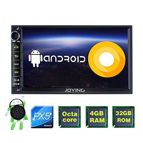 JOYING 7 Car Stereo Android 8.0 4GB + 32GB Head Unit Double
