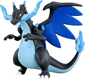 "Takaratomy Pokemon XY Monster Collection Mega Evolution Sinker 6"" Charizard X Action Figure"