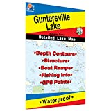 Guntersville Lake Fishing Map