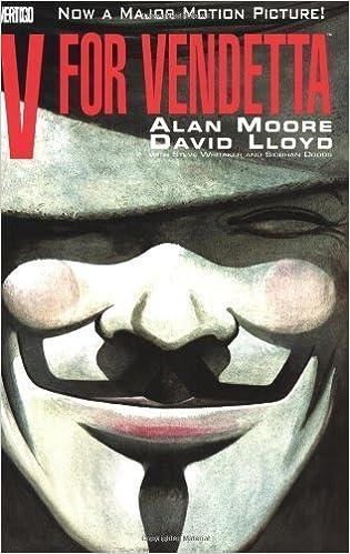 V FOR VENDETTA BOOK /& MASK SET Trade Paperback Graphic Novel Vertigo