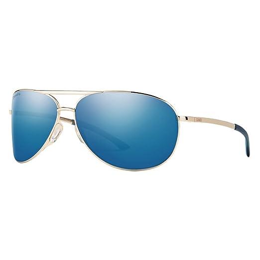 b5138b6184c Amazon.com  Smith Serpico 2 ChromaPop Polarized Sunglasses