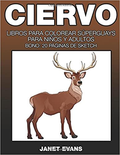 Ebooks para descargar gratis Ciervo: Libros Para Colorear Superguays ...