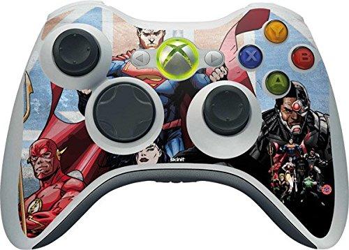 DC Comics Justice League Xbox 360 Wireless Controller Skin -