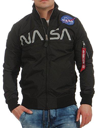 Black Men Industries Jacket Nasa Alpha UwIq8