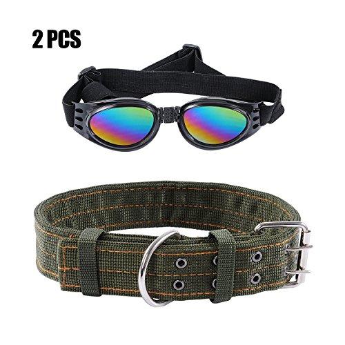 Collar Fabric Adjustable Sunglasses Medium