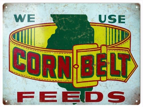 Victory Vintage Nostalgic Country Corn Belt Feed Reproduc...