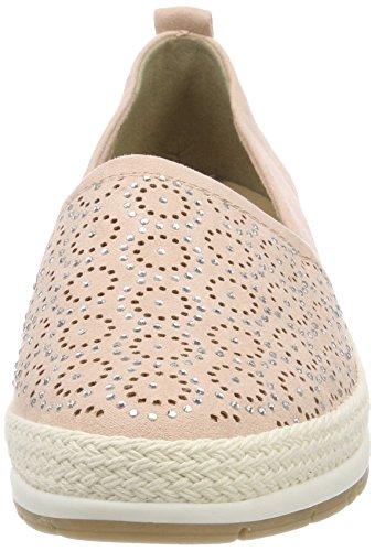 Marco Tozzi Womens Ökade Loafer Gnistan Slip På Mode Sneaker