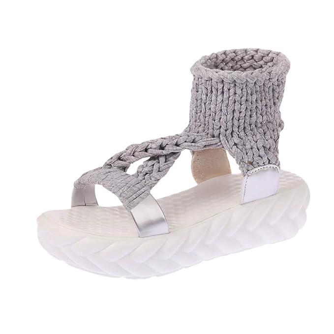 Kinlene Sandalias Zapatillas Zapatos de tacón Las Mujeres de Las Mujeres de la Moda de Verano