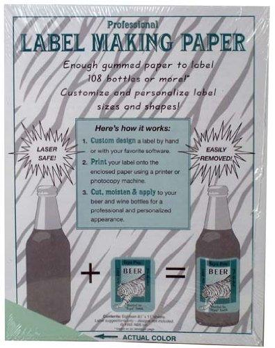 Label Making Paper, Green