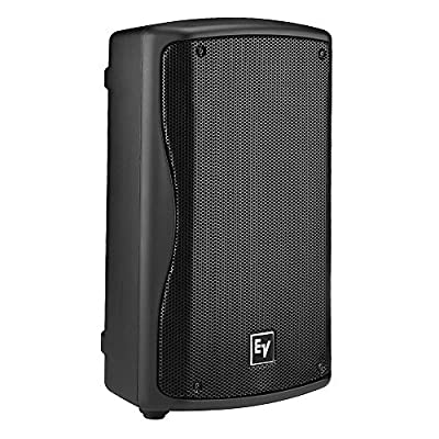 Electro-Voice ZXA1-90 Powered PA Speaker Black w/ Pig Hog PHM25 Xlr to XLR 25ft